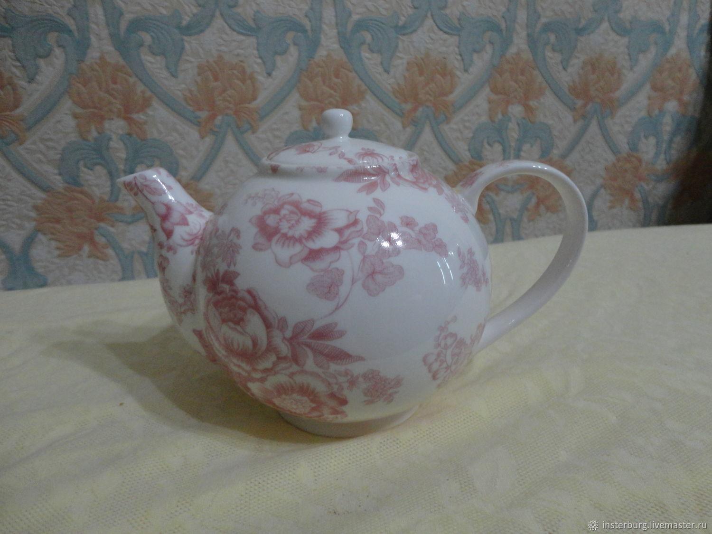 Винтаж: Чайник фарфоровый, Чайники винтажные, Евпатория,  Фото №1