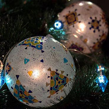 Гирлянда с 3-мя шарами