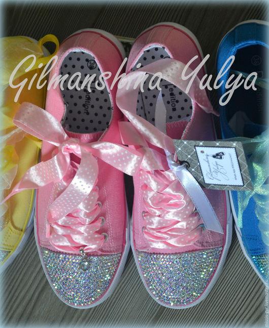 Обувь ручной работы. Ярмарка Мастеров - ручная работа. Купить Розовое счастье. Handmade. Розовый, для девушки, обувь ручной работы