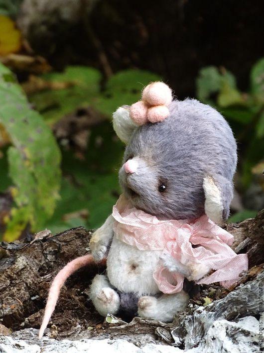 Мишки Тедди ручной работы. Ярмарка Мастеров - ручная работа. Купить Друзья мишки Тедди - Тедди мышка Шурша. Handmade.