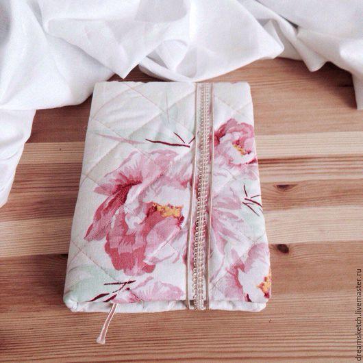 """Блокноты ручной работы. Ярмарка Мастеров - ручная работа. Купить Блокнот """"Цветочный вальс"""". Handmade. Бледно-розовый, крафт"""