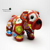 Куклы и игрушки ручной работы. Ярмарка Мастеров - ручная работа Радужный бульдог. Handmade.
