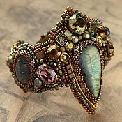 "Украшения handmade. Livemaster - original item Jewelry set ""Foliar"" - necklace, bracelet and earrings. Handmade."
