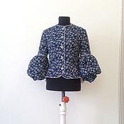 Одежда handmade. Livemaster - original item Secret jacket /micro-velvet and cotton/. Handmade.