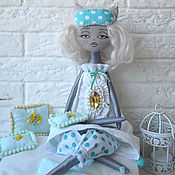 Куклы и игрушки ручной работы. Ярмарка Мастеров - ручная работа Кошка Холли. Handmade.