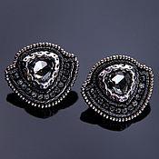 Украшения handmade. Livemaster - original item Crystal Stud Earrings. Handmade.