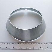 Инструменты для украшений ручной работы. Ярмарка Мастеров - ручная работа Колье-ошейник 5 см, стальная основа. Handmade.
