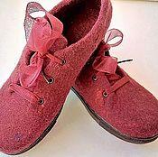 Обувь ручной работы. Ярмарка Мастеров - ручная работа Туфли осенние. Handmade.