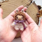 Куклы и игрушки ручной работы. Ярмарка Мастеров - ручная работа Игрушка вязаная и валяная Солнечный зайчик-домовой. Handmade.