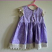 """Работы для детей, ручной работы. Ярмарка Мастеров - ручная работа Платье для девочки """"Ежевичка"""". Handmade."""