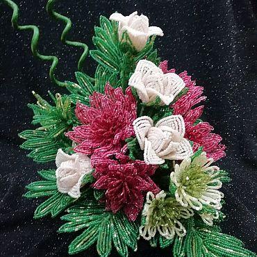 Цветы и флористика ручной работы. Ярмарка Мастеров - ручная работа Композиция цветов. Handmade.