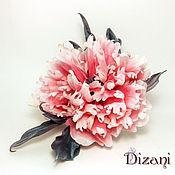 Цветы и флористика handmade. Livemaster - original item Brooch peony