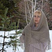 Аксессуары handmade. Livemaster - original item Handkerchief wool with the addition of Angora. Handmade.