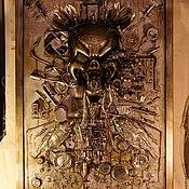 Картины и панно ручной работы. Ярмарка Мастеров - ручная работа Коллаж в духе стимпанк(Steampunk). Handmade.
