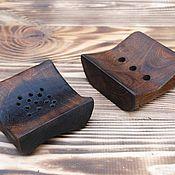 Для дома и интерьера ручной работы. Ярмарка Мастеров - ручная работа Мыльница из натурального дерева. Handmade.