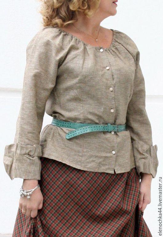 """Блузки ручной работы. Ярмарка Мастеров - ручная работа. Купить Блуза """"Мятная"""". Handmade. Мятный, Женская блузка, шебби шик"""