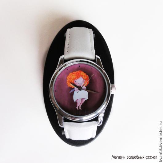 Часы с феечкой.  Магазин волшебных феечек http://www.livemaster.ru/kvantik