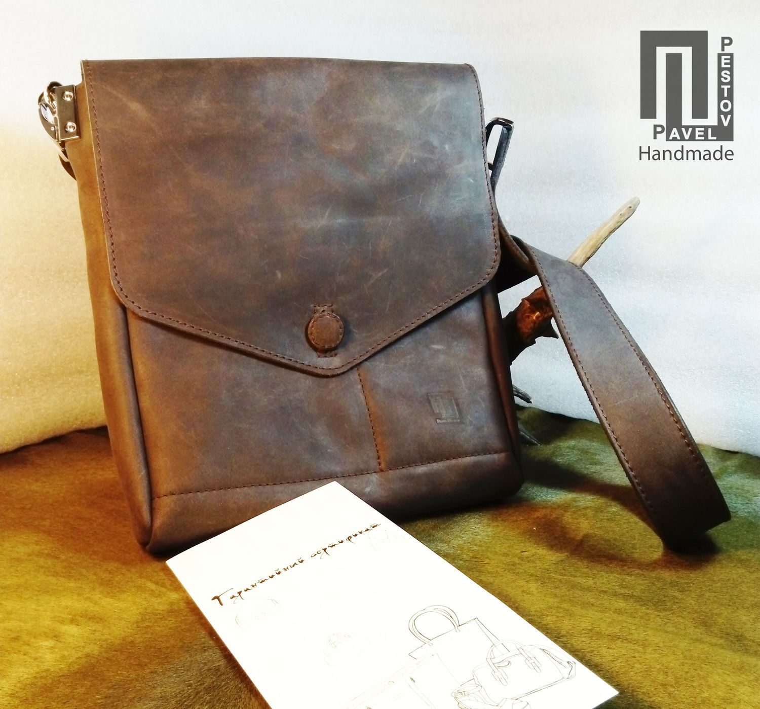 214935af9654 Men s Bags handmade. Livemaster - handmade. Buy Bag mens  Envelope  button.