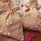 Для дома и интерьера handmade. Livemaster - original item pouches-sachet