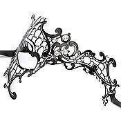 Одежда ручной работы. Ярмарка Мастеров - ручная работа Маска Металлическая Полумаска. Handmade.
