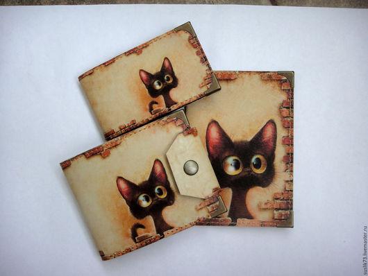 """Персональные подарки ручной работы. Ярмарка Мастеров - ручная работа. Купить комплект """"Любопытный кот2"""". Handmade. Подарок"""