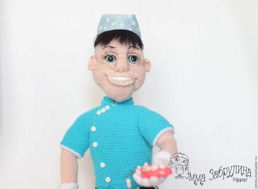 Вязание ручной работы. Ярмарка Мастеров - ручная работа. Купить Стоматолог. Handmade. Стоматолог, мастер класс по вязанию