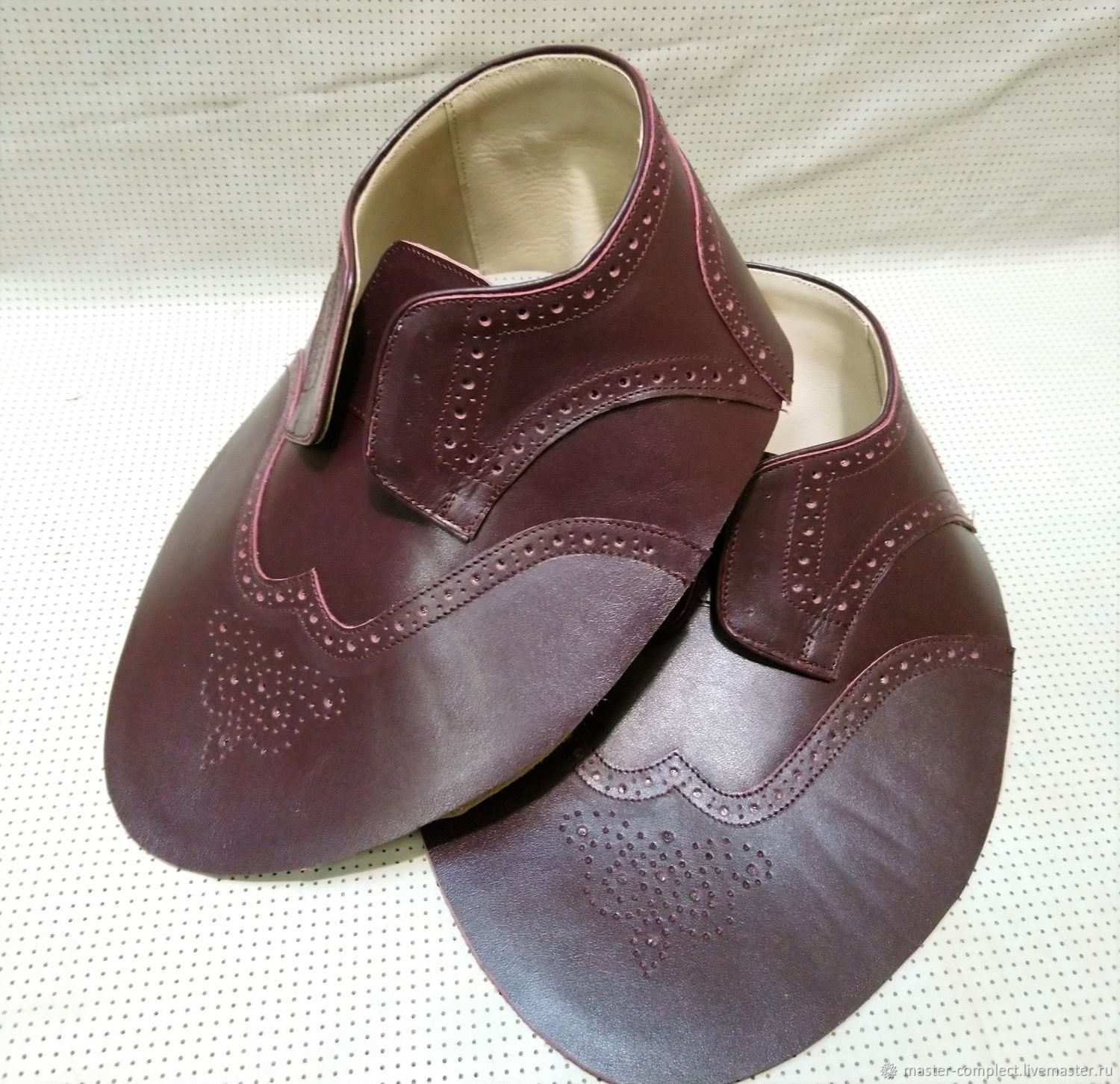 Blank for women's shoes DERBY style, Materials for making shoes, Moscow,  Фото №1