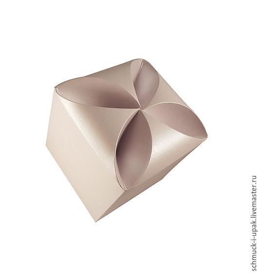 """Упаковка ручной работы. Ярмарка Мастеров - ручная работа. Купить Коробка для браслета """"Водоворот"""". Handmade. Коробочки, белый, коробка для браслета"""