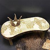 Для домашних животных, ручной работы. Ярмарка Мастеров - ручная работа Подставки под миску (мини). Handmade.