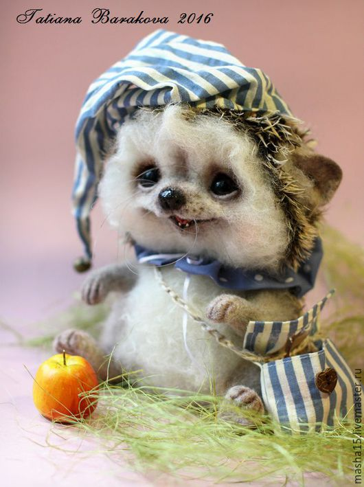 """Игрушки животные, ручной работы. Ярмарка Мастеров - ручная работа. Купить Валяный ежик """"Шурик"""". Handmade. Ежик, ежик игрушка"""
