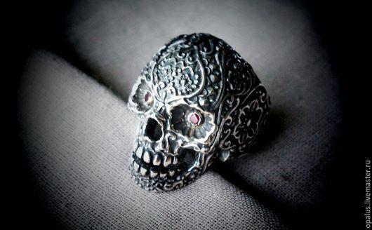 """Украшения для мужчин, ручной работы. Ярмарка Мастеров - ручная работа. Купить Перстень """"El Muerto"""". Handmade. Серебряный перстень"""