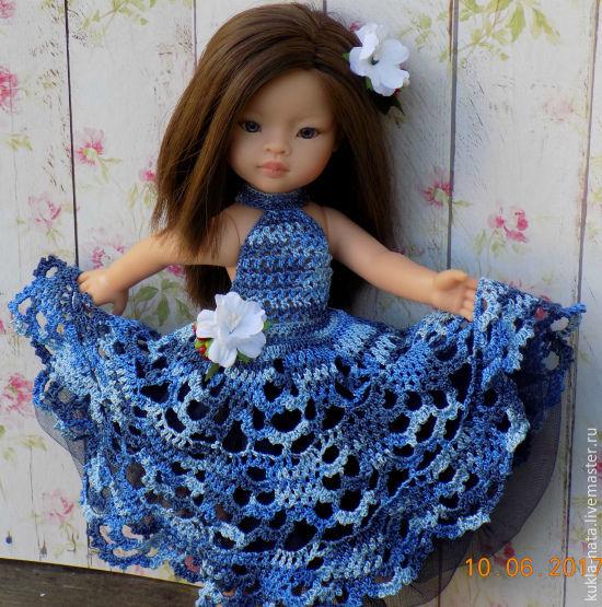 Платье для куклы Paola Reina/Паола Рейна