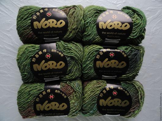 Вязание ручной работы. Ярмарка Мастеров - ручная работа. Купить Пряжа Noro Kama № 4. Handmade. Пряжа норо