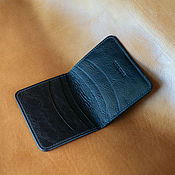 Сумки и аксессуары handmade. Livemaster - original item Pocket calfskin wallet. Handmade.