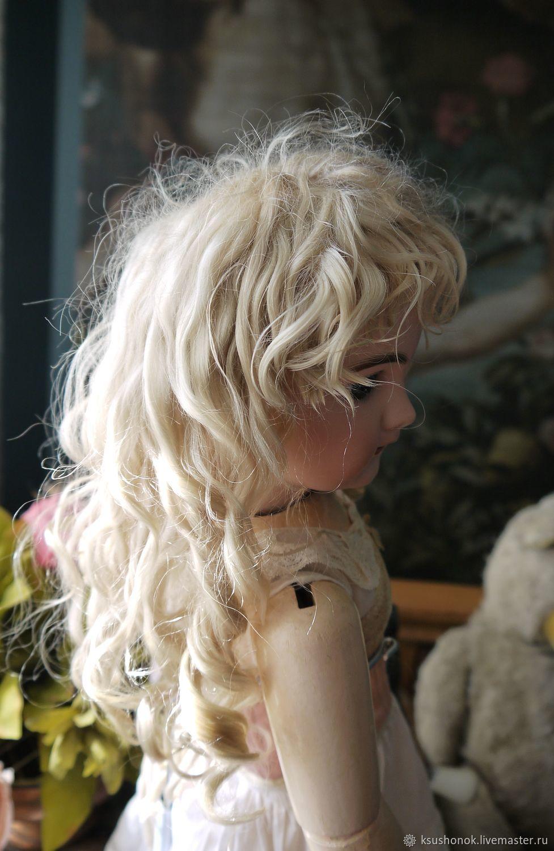Парик для куклы с боковым пробором и челкой, Одежда для кукол, Балашов,  Фото №1