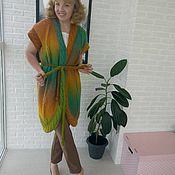 Одежда ручной работы. Ярмарка Мастеров - ручная работа Жилет Тропики 2. Handmade.