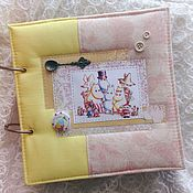 Канцелярские товары handmade. Livemaster - original item Cook book in the style of Moomin Trolls. Handmade.