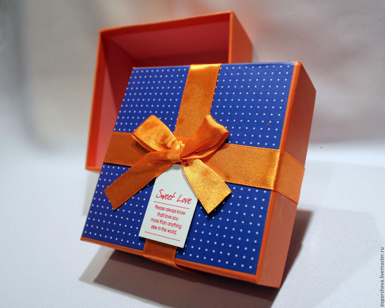 Как оригинально оформить коробку для подарка 100