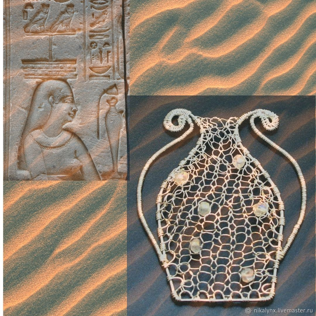 "Pendant ""amphora of happiness"" of wire and labradorite, Pendants, St. Petersburg,  Фото №1"