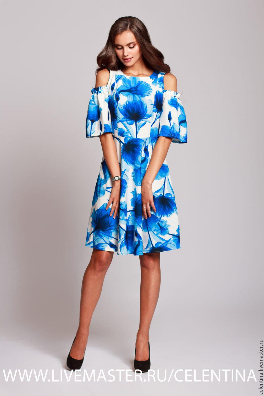 Летнее яркое платье купить