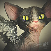 Подарки к праздникам handmade. Livemaster - original item Asgard, Sphinx cat. Handmade.