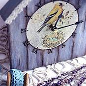 """Для дома и интерьера ручной работы. Ярмарка Мастеров - ручная работа Часы """"Птичий домик"""". Handmade."""