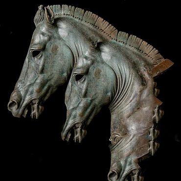 Для дома и интерьера ручной работы. Ярмарка Мастеров - ручная работа Скульптуры:Голова коня. Handmade.