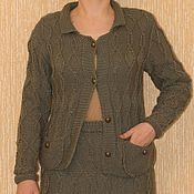 Одежда ручной работы. Ярмарка Мастеров - ручная работа Костюм с юбкой шанель ручной работы. Handmade.
