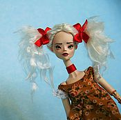 Куклы и игрушки ручной работы. Ярмарка Мастеров - ручная работа Шарнирная кукла Lоla. Handmade.