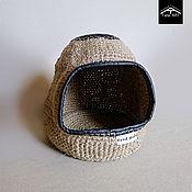 """handmade. Livemaster - original item House """"Cocoon"""" for pets. Handmade."""