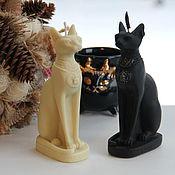 Свечи ручной работы. Ярмарка Мастеров - ручная работа Свечи: Кошка Бастет. Handmade.