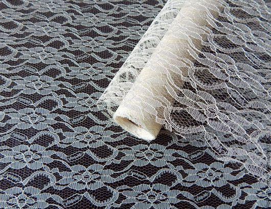 Другие виды рукоделия ручной работы. Ярмарка Мастеров - ручная работа. Купить Кружево полотно 50 см.. Handmade. Бежевый