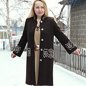 """Одежда ручной работы. Ярмарка Мастеров - ручная работа Вязаное пальто """"Любимый принт"""". Handmade."""