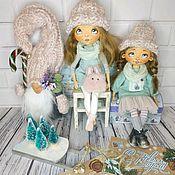 Куклы и пупсы ручной работы. Ярмарка Мастеров - ручная работа Снегурочки. Handmade.